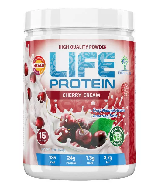 Life Protein Cherry Cream 907g, Tree of life фото 1 — 65fit
