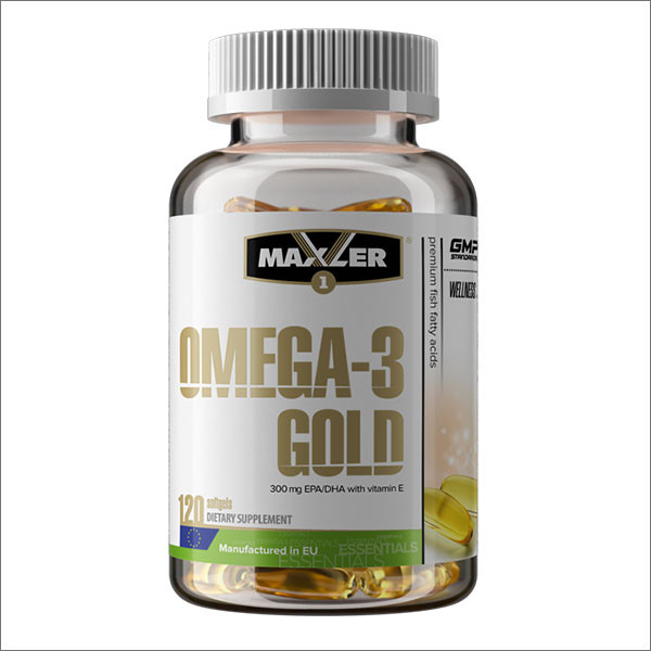 Оmega 3-6-9 Gold 120 softgels, Maxler фото 1 — 65fit