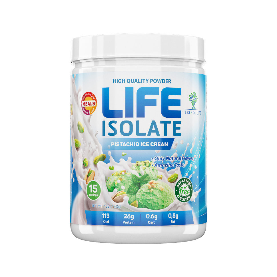 Life Isolate Pistachio ice cream 454g, Tree of life фото 1 — 65fit