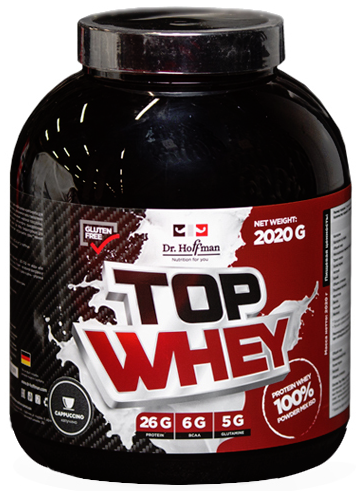 Top Whey баунти 2020g, Dr.Hoffman фото 1 — 65fit