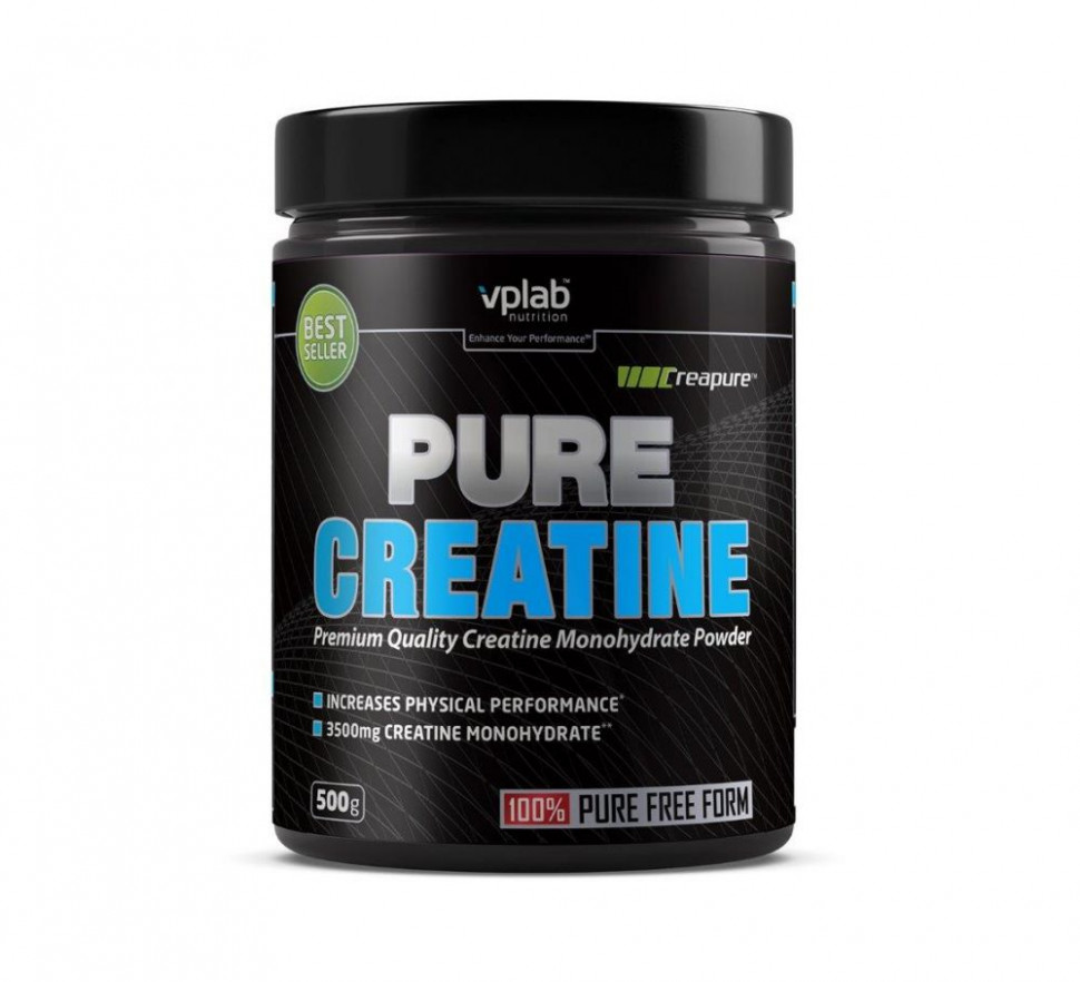Pure Creatine 500g, VPLAB фото 1 — 65fit