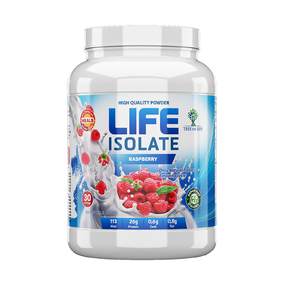 Life Isolate Raspberry 907g, Tree of life фото 1 — 65fit