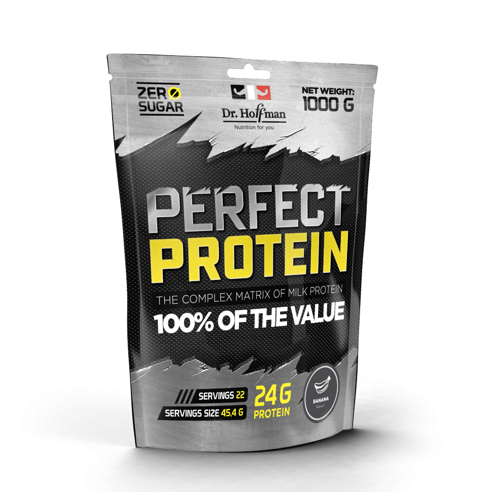 Perfect Protein персик 1000g, Dr.Hoffman фото 1 — 65fit