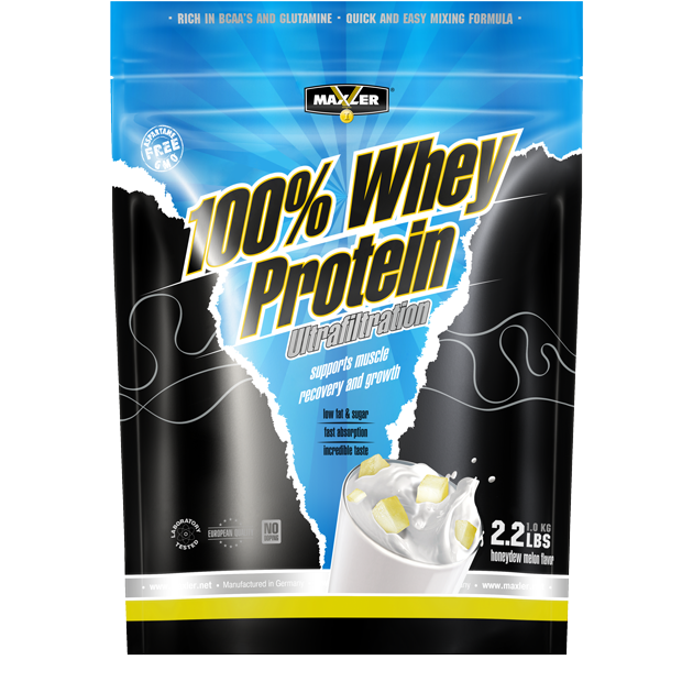 Whey Protein Ultrafiltration Honeydew Melon 1000g, Maxler фото 1 — 65fit