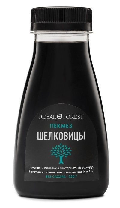 ROYAL FOREST Пекмез шелковицы 250г фото 1 — 65fit