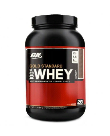 Gold Standard 100% Whey Extreme Milk Chocolate 909гр, Optimum Nutrition фото 1 — 65fit