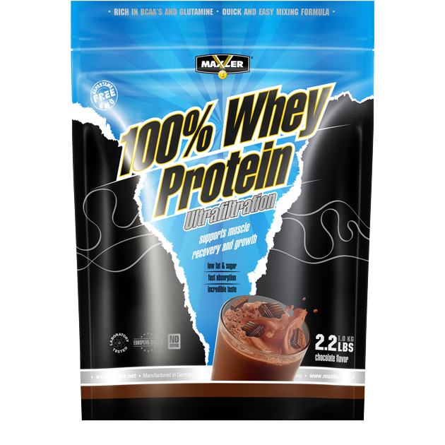 Whey Protein Ultrafiltration Chocolate 1000g, Maxler фото 1 — 65fit
