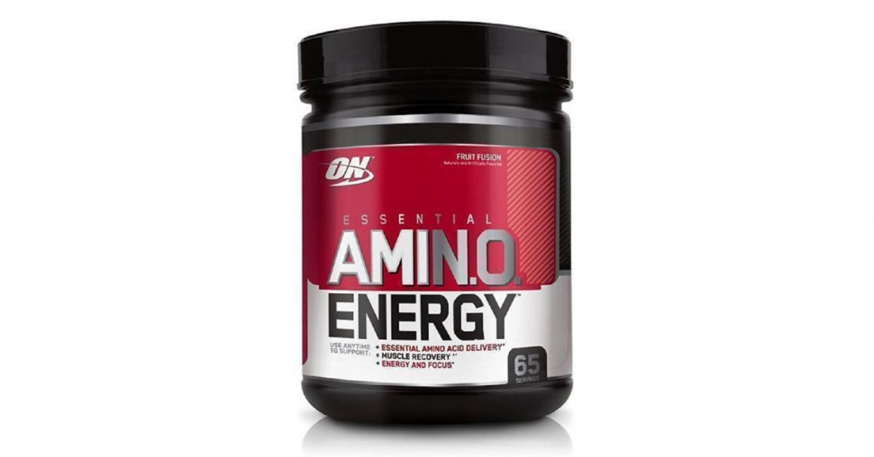 Essential Amino Energy Fruit Fusion 585g, Optimum Nutrition фото 1 — 65fit