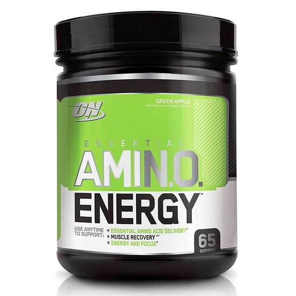 Essential Amino Energy Green Apple 585g, Optimum Nutrition фото 1 — 65fit