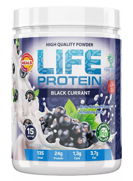 Life Protein Black Currant 454g, Tree of life фото 1 — 65fit