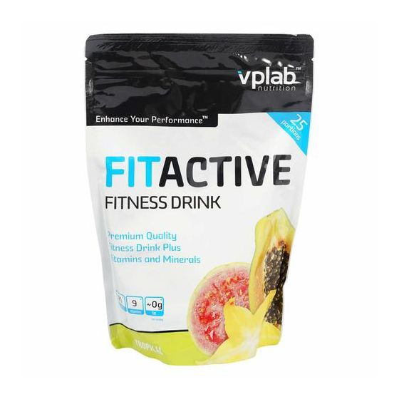 Fitactive fitness drink тропик 500г, VPlab фото 1 — 65fit