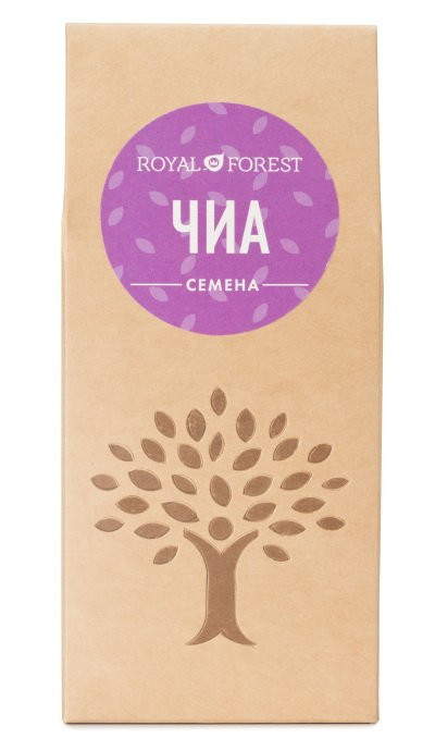 ROYAL FOREST Семена Чиа 100г фото 1 — 65fit